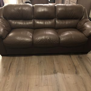 Leather Couch Set for Sale in Battle Ground, WA