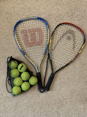 Tennis Rackets w/ Balls for Sale in Miami, FL