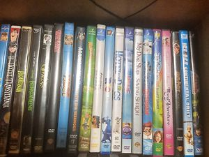 Forty- one DVDs for sale, mostly kids for Sale in Marietta, GA