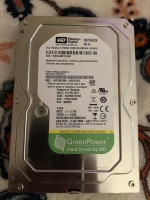 Western Digital 1tb Sata Hard drive for Sale in South El Monte, CA