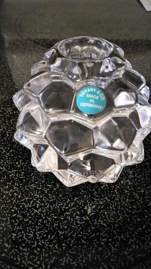 Tiffany & Co. Pine cone candle holder for Sale in Pawtucket, RI