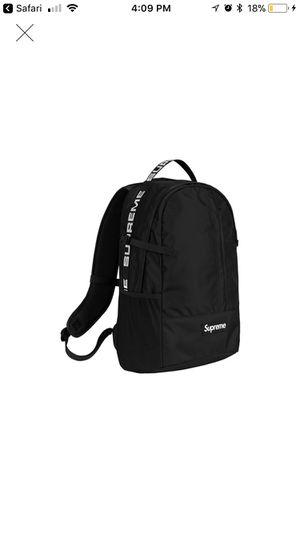 Supreme Black Backpack for Sale in Germantown, MD