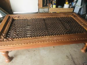 Antique Jali table for Sale in Redlands, CA