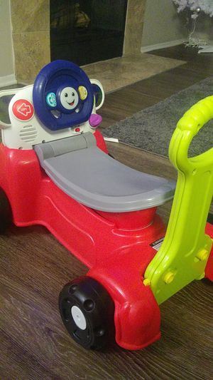 Fisher Price Laugh and Learn 3 in 1 Interactive Smart Car for Sale in Lake Grove, OR