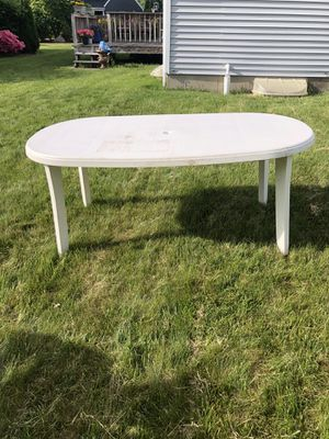 Plastic table for Sale in Shrewsbury, MA