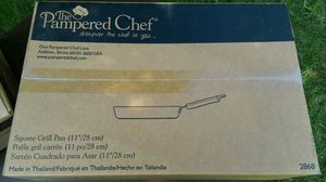 Pampered chef Square Grill Pan for Sale in Leesburg, VA