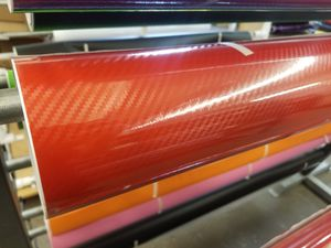 Gloss Red 8D Carbon Fiber Vinyl Wrap Roll Car Automotive - ALL SIZES AVAILABLE for Sale in Gardena, CA