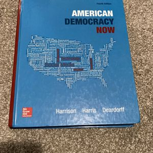 Government Textbook- American Democracy Now for Sale in Vista, CA