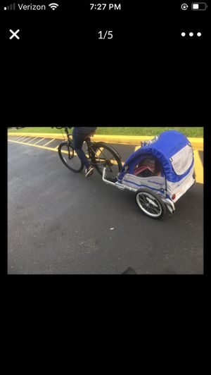 kid bike trailer for Sale in Hialeah, FL
