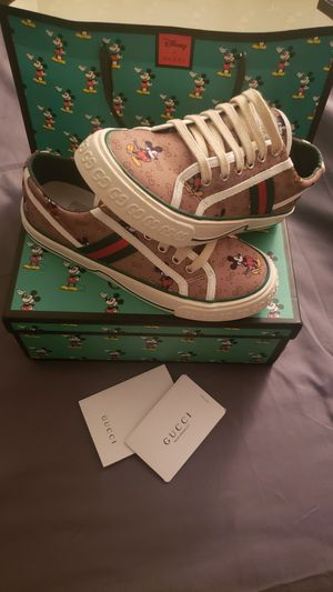 Gucci Disney's character sneakers (Mickey Mouse) for Sale in SUNNY ISL BCH, FL