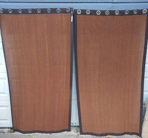 1 PAIR JC PENNEY PORCH CURTAINS 👇 for Sale in Fort Worth, TX