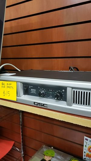 QSC Amp FOR PARTS ONLY for Sale in Chicago, IL