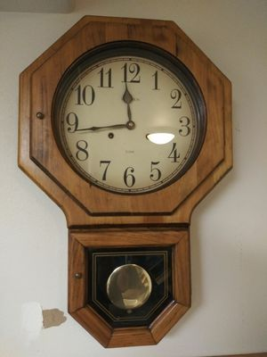 Very cool antique clock for Sale in Milton, WA