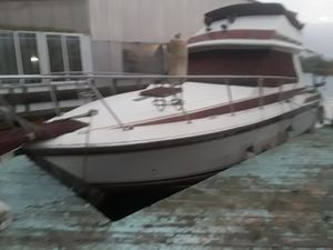 1982 wellcraft 260 sedan cruiser 1 cabin boat twin 350, direct drive low hours for Sale in Brentwood, CA