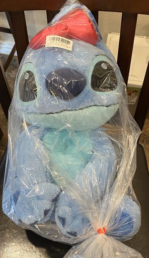 Brand New Disney Plushy / Stitch / Pick-up in Cedar Hill / Shipping Available for Sale in Cedar Hill, TX