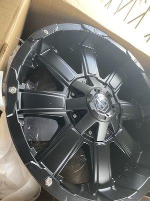 5x127 / 5x135 20x9 mayhem Off-Road Wheels for Sale in Tampa, FL