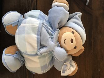 Kaloo Bear with bonus baby stuffed hand toy for Sale in Bellevue,  WA