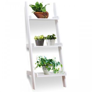 Wholesale price retail store close clearance sale 3 Tier Leaning Wall Ladder Display Planting Storage Rack for Sale in ROWLAND HGHTS, CA