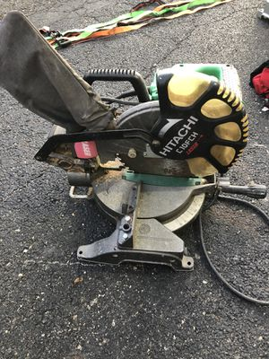 "Hitachi 10"" saw for Sale in Columbus, OH"