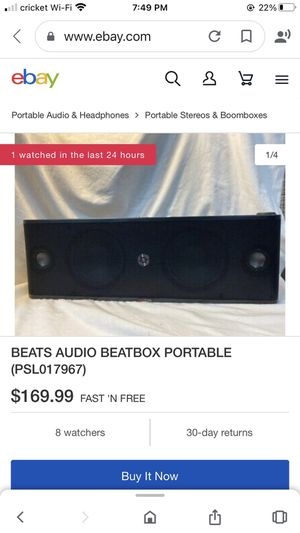 Beats speaker for Sale in New Port Richey, FL