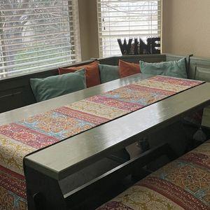 Italian Pine Kitchen Table set for Sale in Las Vegas, NV