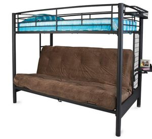 Twin/full futon bunk beds. W/matress for Sale in Phoenix, AZ