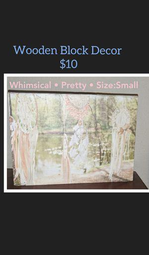 Wooden • Dream Catcher • Home Decor for Sale in Midlothian, TX