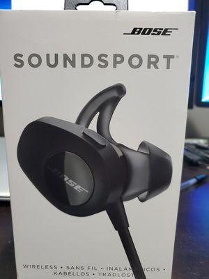 Bose soundsport wireless headphones for Sale in Minneapolis, MN