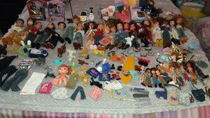 Bratz dolls &accessories circa 2002 for Sale in Lowell, MA