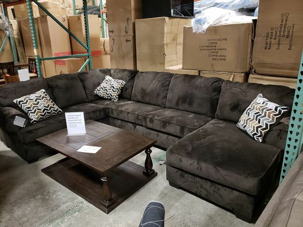 New Ashley furniture u shape sectional sofa tax included free delivery