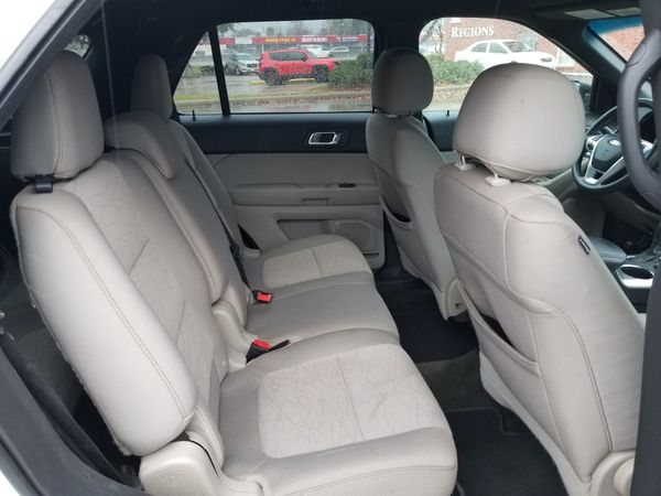 2013 FORD EXPLORER 3 ROW SEATS CLEAN TITLE