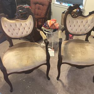 Vintage Victorian Arm Chairs for Sale in Houston, TX