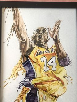 *BEST OFFER* Kobe Bryant LA Lakers Framed Art Print for Sale in Saint Ann,  MO