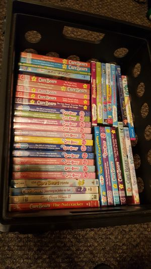 37 Carebear Dvds Massive collection for Sale in Mifflinburg, PA