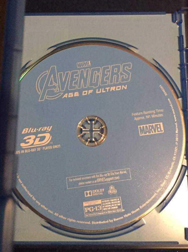 Avengers: Age Of Ultron (3D Disc)