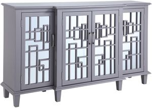ACCENT CABINET W MIRROR PANELS for Sale in Hialeah, FL