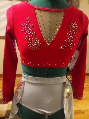Girls size medium semi custom dance costume for Sale in Eau Claire, WI