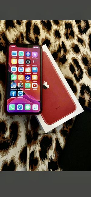 Brand New Iphone 11 Red 64gb Factory Unlocked 1 Year Apple Warranty Apple Receipt Available for Sale in Laurel, MD