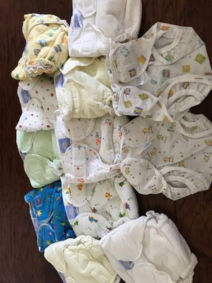 Cloth washable diapers newborn for Sale in Plano, TX