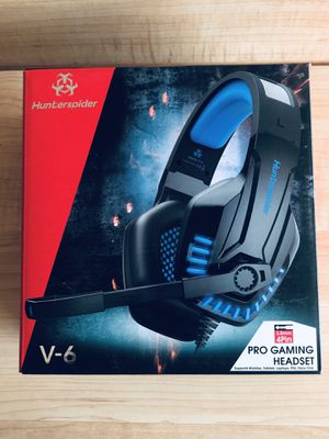Spider hunter V-6 gaming headphones for Sale in Modesto, CA