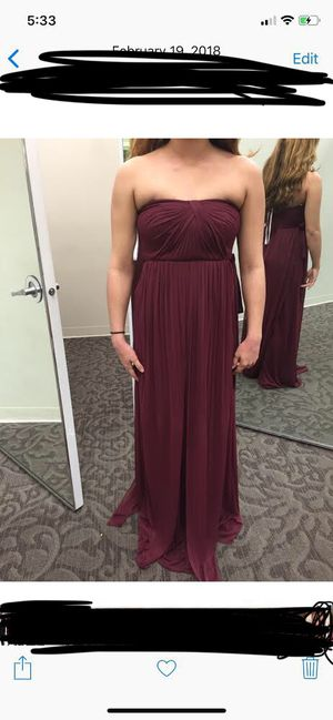 David's Bridal Versa Dress for Sale in Glendale, AZ