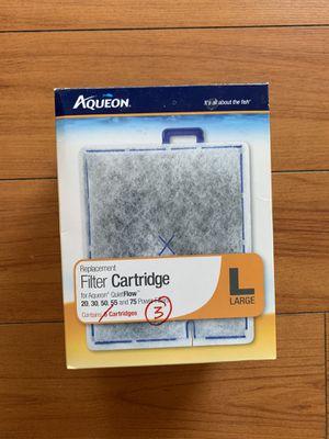 Aqueon Filter Cartridge Replacement L Large - 3 pcs for Sale in La Puente, CA