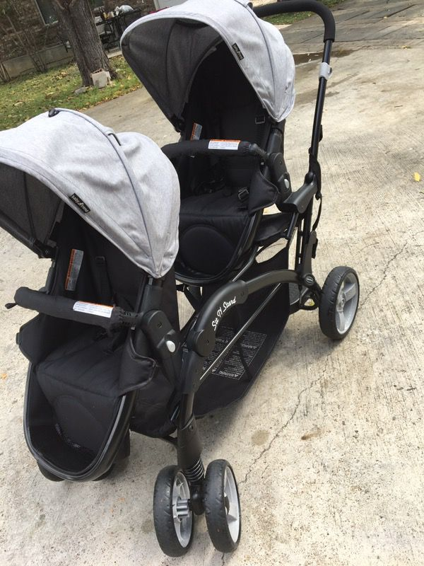 Baby Trend Sit N Stand Snap Fit Morning Mist Stroller For
