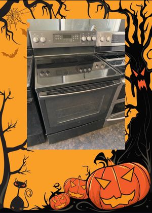 GE SLATE GREY ELECTRIC STOVE 220 VOLT for Sale in Fountain Valley, CA