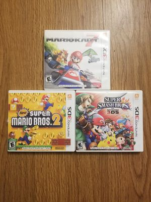 3DS AND 2DS Games for Sale in Yorba Linda, CA