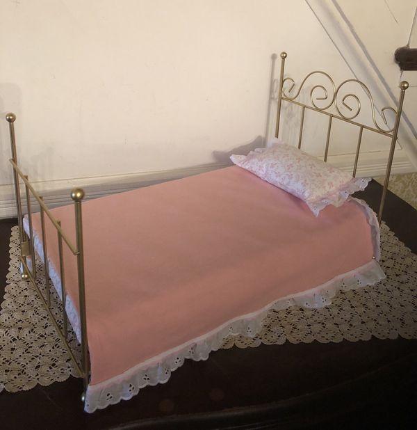 Metal Doll Bed