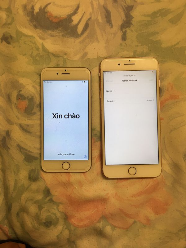 I phone 6 for parts iCloud lock 7 plus sold