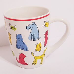 Dog Lover Dog Town Coffee Cup Mug Bull Dog Poodle Dachshund Signature Housewares for Sale for sale  La Grange Park, IL