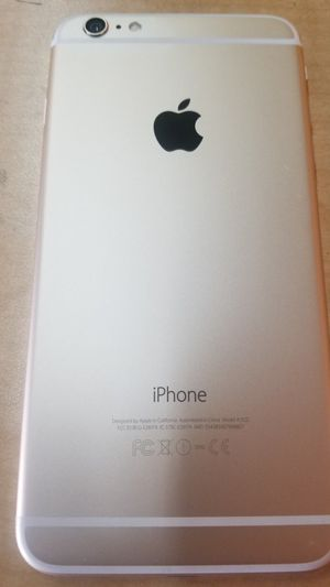 Unlocked iPhone 6 Plus 64g gold excellent for Sale in San Jose, CA