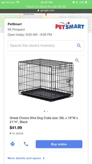 PetSmart Medium Dog Crate for Sale in Arlington Heights, IL
